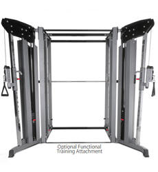 BodyCraft Fitness Jones Machine - Cable Crossover Option - Lat Machine Option - Choice Of Bars - smith machine - Prospot SSG